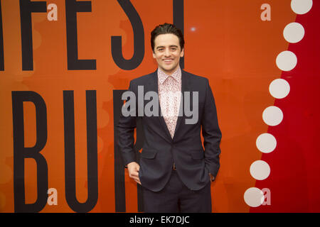 Hamburger Filmfest Premiere des Films Boardwalk Empire im Cinemaxx-Kino mit: Vincent Piazza wo: Hamburg, Deutschland - Stockfoto