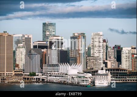 Vancouver Skyline, Britisch-Kolumbien, Kanada - Stockfoto