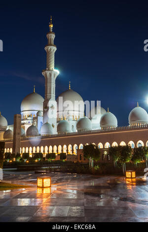 Sheikh Zayed Grand Moschee - Stockfoto