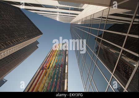 Wolkenkratzer, Chicago, Illinois, Usa; Chicago, Illinois, Usa - Stockfoto