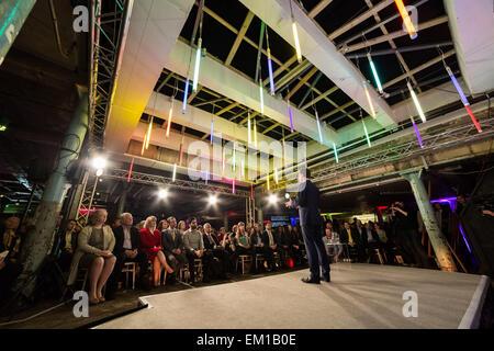 London, UK. 15. April 2015. Wahlprogramm der liberalen Demokraten General starten Credit: Guy Corbishley/Alamy Live - Stockfoto