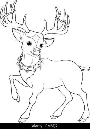 Malvorlagen Weihnachten Themen Santa Stockfoto Bild 103053532 Alamy