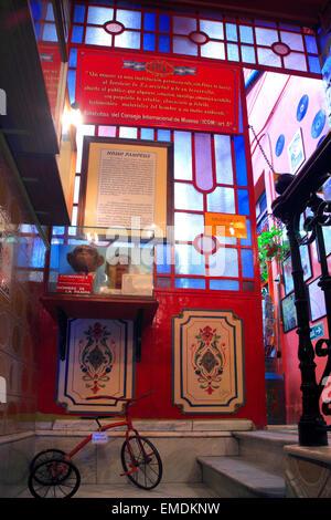 Museo de Cera Historico (Wachsfigurenkabinett der Geschichte) von La Boca, Buenos Aires, Argentinien - Stockfoto