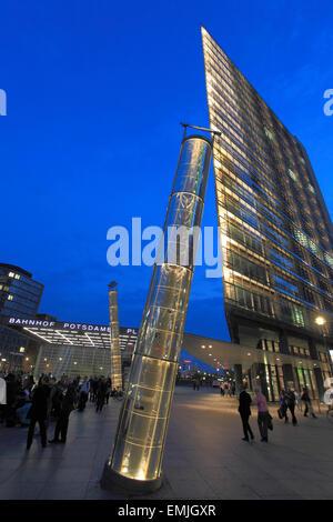Deutschland, Berlin, Potsdamer Platz, Wolkenkratzer, moderne Architektur, - Stockfoto