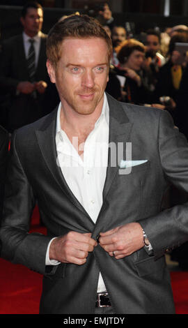 "BFI London Film Festival - ""ein wenig Chaos"" - Love Gala Screening im Odeon West End Featuring: Damian Lewis Where: - Stockfoto"