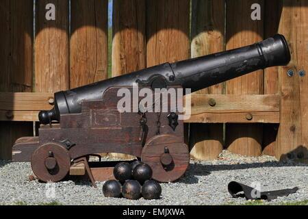 Bürgerkrieg-Canon - Stockfoto