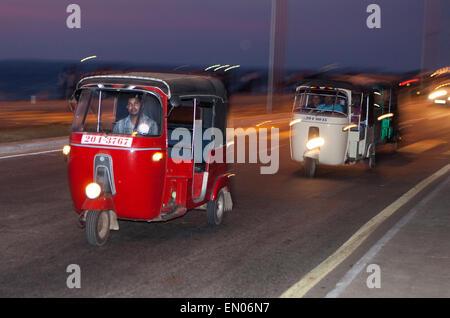 SRI LANKA, Colombo: Tuk-Tuks in Colombo - Stockfoto