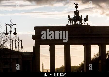 Brandenburger Tor, Brandenburger Tor, Berlin, Deutschland - Stockfoto