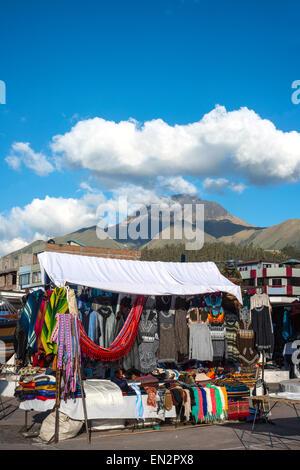Berühmten indischen Markt in Otavalo, Imbabura, Ecuador, Südamerika - Stockfoto