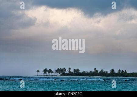 Karibik Sturm nähert sich - Stockfoto