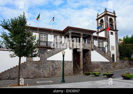 Rathaus, Praia da Vitoria, Terceira, Azoren, Portugal - Stockfoto