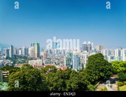 Ansicht der zentrale Macao Macau Wohn blockiert Bereich in china - Stockfoto