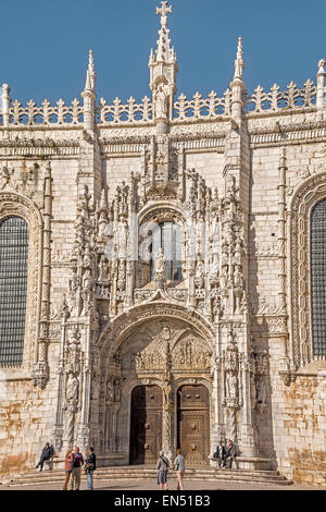 Das Hieronymus-Kloster Lissabon Portugal - Stockfoto
