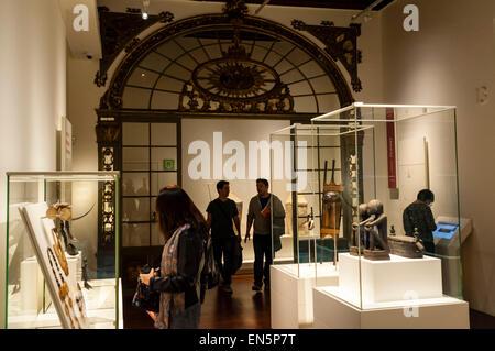 Museu de Kulturen del Món, Barcelona, Katalonien - Stockfoto