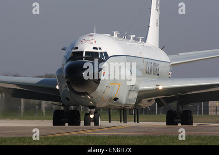 uns air Force USAF rc135w Rivet joint - Stockfoto