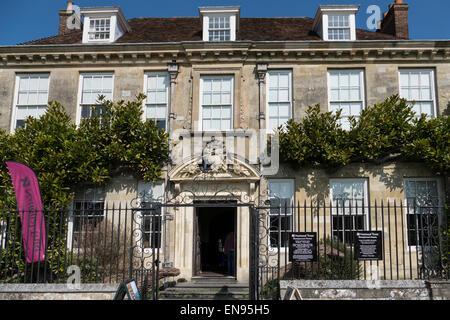 England, Wiltshire, Salisbury, Mompesson Haus - Stockfoto