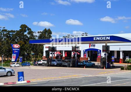 Engen-Tankstelle in Südafrika - Stockfoto