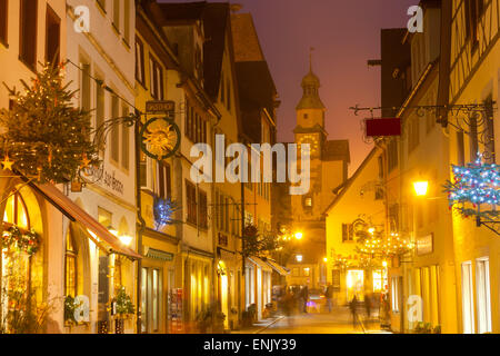 rothenburg ob der tauber laden schaufenster stockfoto. Black Bedroom Furniture Sets. Home Design Ideas