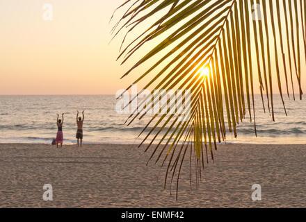 Agonda Beach Goa in Indien - Stockfoto