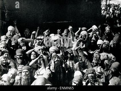 Intoleranz, USA 1916, aka: Liebe Kampf während des Alters, Regie: D. W. Griffith, Das Volk von Jerusalem - Stockfoto