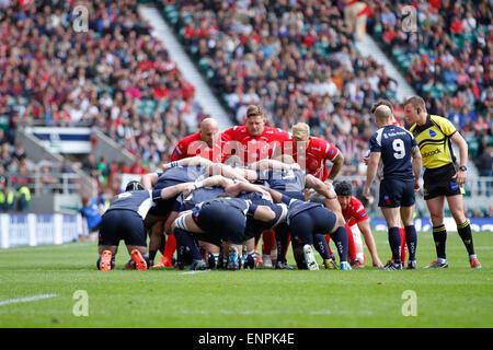 London, UK. 9. Mai 2015. Babcock Cup Armee V Navy Rugby-match im Twickenham Stadium. Bildnachweis: Elsie Kibue / - Stockfoto