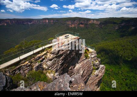 Die Blue Mountains in New South Wales, Australien - Stockfoto