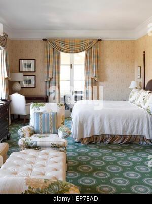 Zimmer im The Omni Homestead Resort - Stockfoto