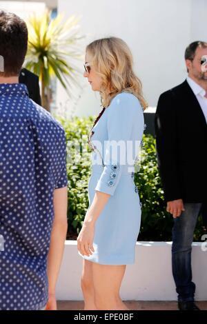 "16. Mai 2015 - Cannes, Ca, Frankreich - Diane Kruger.photo Anruf ""Maryland - Störung"". Cannes Film Festival 2015.Cannes, - Stockfoto"