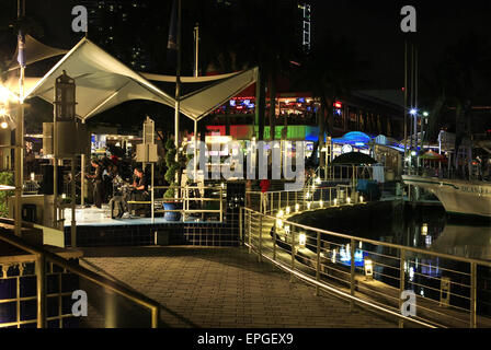 Bayside Marketplace in Miami - Stockfoto