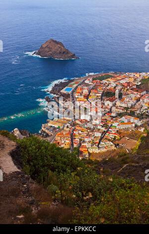 Garachico in Teneriffa - Kanarische - Stockfoto