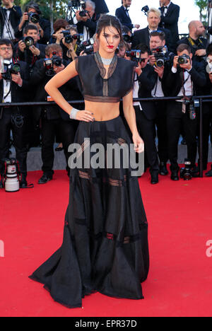 Cannes, Frankreich. 20. Mai 2015. Kendall Jenner Modell Jugend, Premiere 68 Th Cannes Film Festival Cannes, Frankreich - Stockfoto