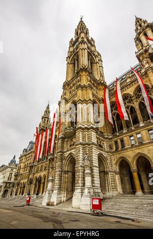 Vienna-Rathaus - Stockfoto