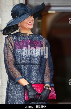 Ottawa, 27.05.2015 HM Königin Maxima (Tasche und Jewelrey ...