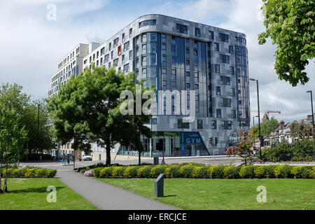 Mayflower Hallen, neuen University of Southampton studentisches Wohnen in Southampton - Stockfoto