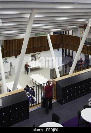 Wolverhampton Vereinigtes Königreich : blick richtung offene lernbereich in zentraler lage s d ~ Watch28wear.com Haus und Dekorationen