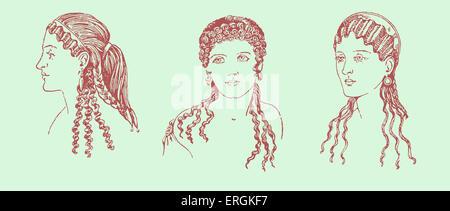 Antike Griechische Frisuren Beispiel Fur Antike Griechische