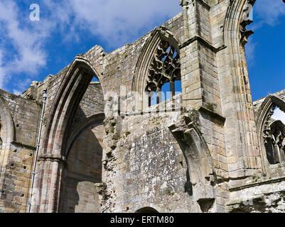 dh Bolton Abtei WHARFEDALE NORTH YORKSHIRE Bolton Priory zerstörten Abtei Ruinen England - Stockfoto