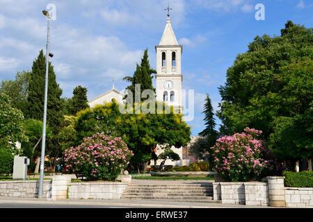 Kirche von Gospe van Grada in Sibenik an der dalmatinischen Küste von Kroatien - Stockfoto