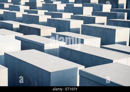 Das Holocaust-Mahnmal in Berlin, Deutschland - Stockfoto