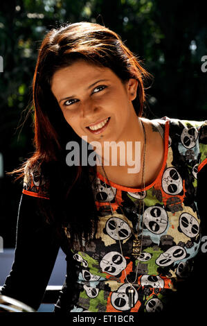 Mädchen lächelnd Indien Asien Herr #515 - Stockfoto