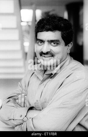 Chief Executive Officer und Director von Infosys Nandan Nilenkani bei Infosys Campus; Bangalore; Karnataka; Indien - Stockfoto