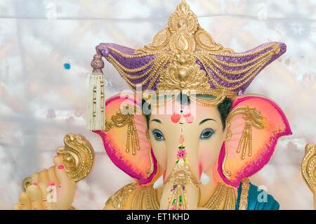 Idol von Lord Ganesh in Pune, Maharashtra Indien Asien - Stockfoto