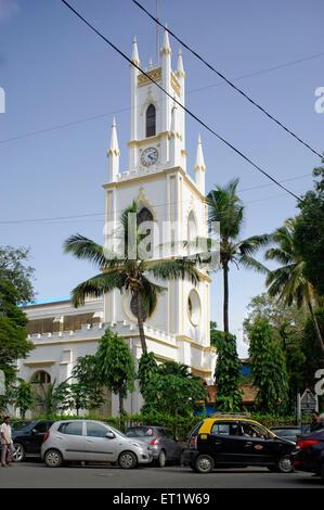 St. Thomas Kathedrale in Fort in Mumbai, Maharashtra, Indien Asien - Stockfoto
