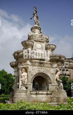 Flora-Brunnen in Fort in Mumbai, Maharashtra, Indien - Stockfoto