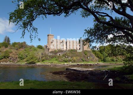 Dunvegan Castle Isle Of Skye Inneren Hebriden Schottland Großbritannien Europa - Stockfoto