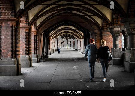 Oberbaumbrücke, Berlin, Deutschland - Stockfoto