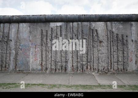 Gedenkstätte Berliner Mauer, Berlin Deutschland - Stockfoto