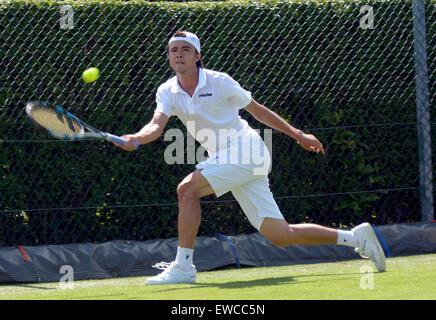 Wimbledon, London, UK. 22. Juni 2015. Bank of England Sport erdet Roehampton London England 22. Juni 2015. Bild - Stockfoto