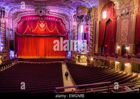 Kings Theatertour Brooklyn New York City - Stockfoto