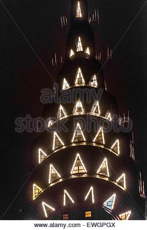 Die berühmten Art-Deco-Chrysler Building, New York, New York USA. - Stockfoto
